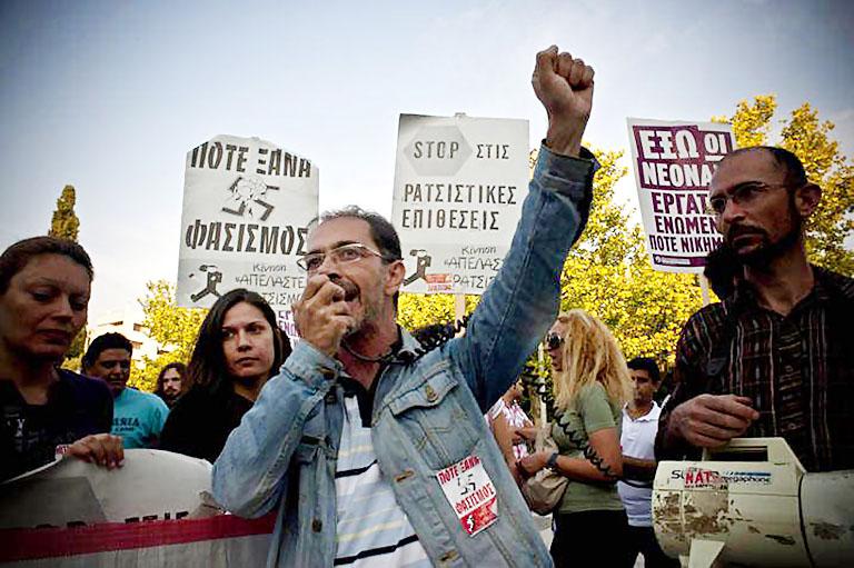 """""""Die Politik der Syriza-Regierung ist rassistisch"""""""