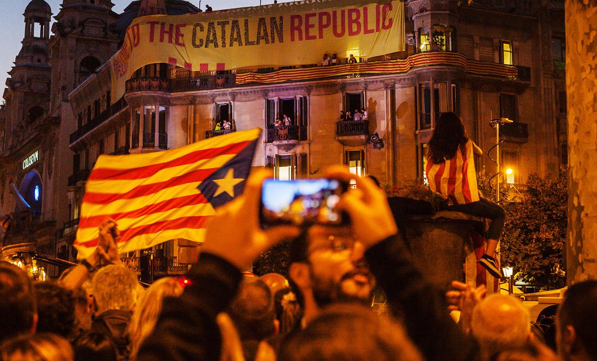 Selbstbestimmungsrecht für Katalonien!