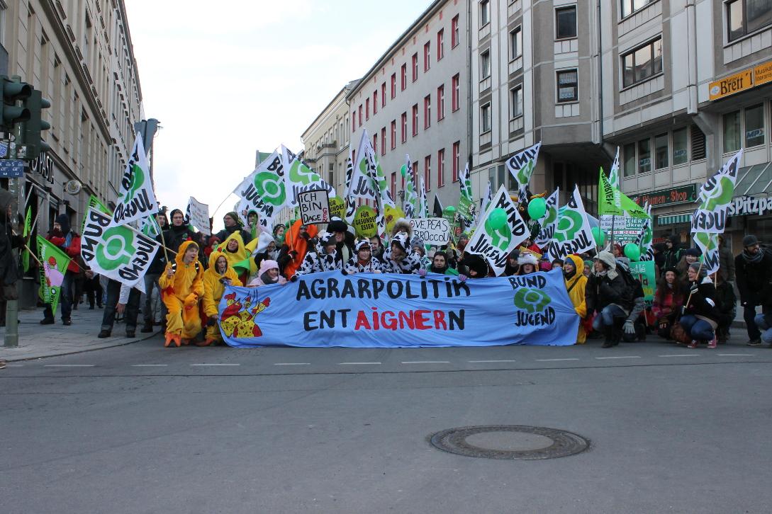 Wir haben die EU-Agrarpolitik satt! Für eine ökosozialistische Landwirtschaft!