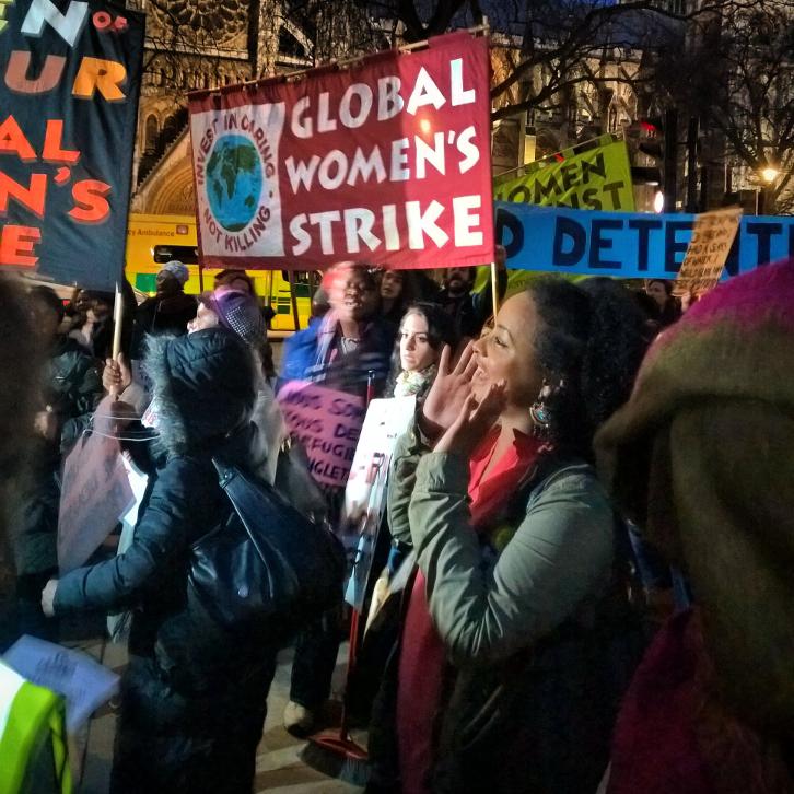 Der neue Aufschwung der Frauenbewegung macht Frauen zu Vorkämpferinnen der Gegenwehr