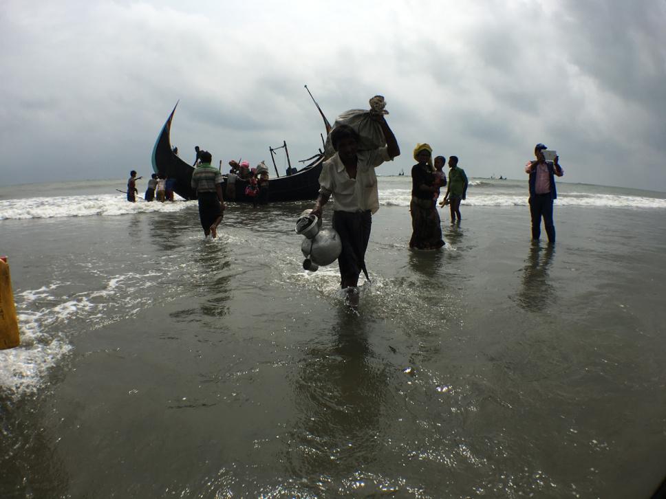 Solidarität mit den Rohingya-Flüchtlingen in Bangladesch