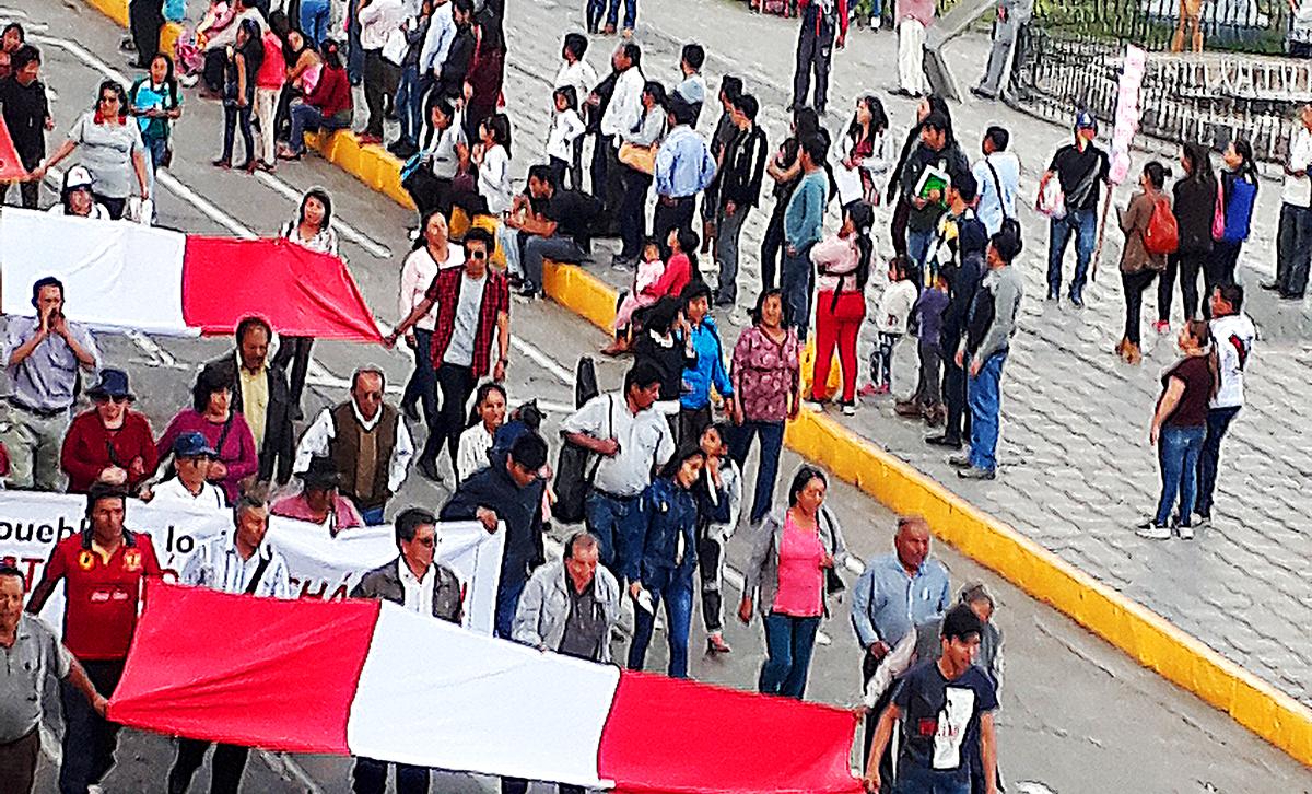 Zehntausende protestieren gegen Korruption