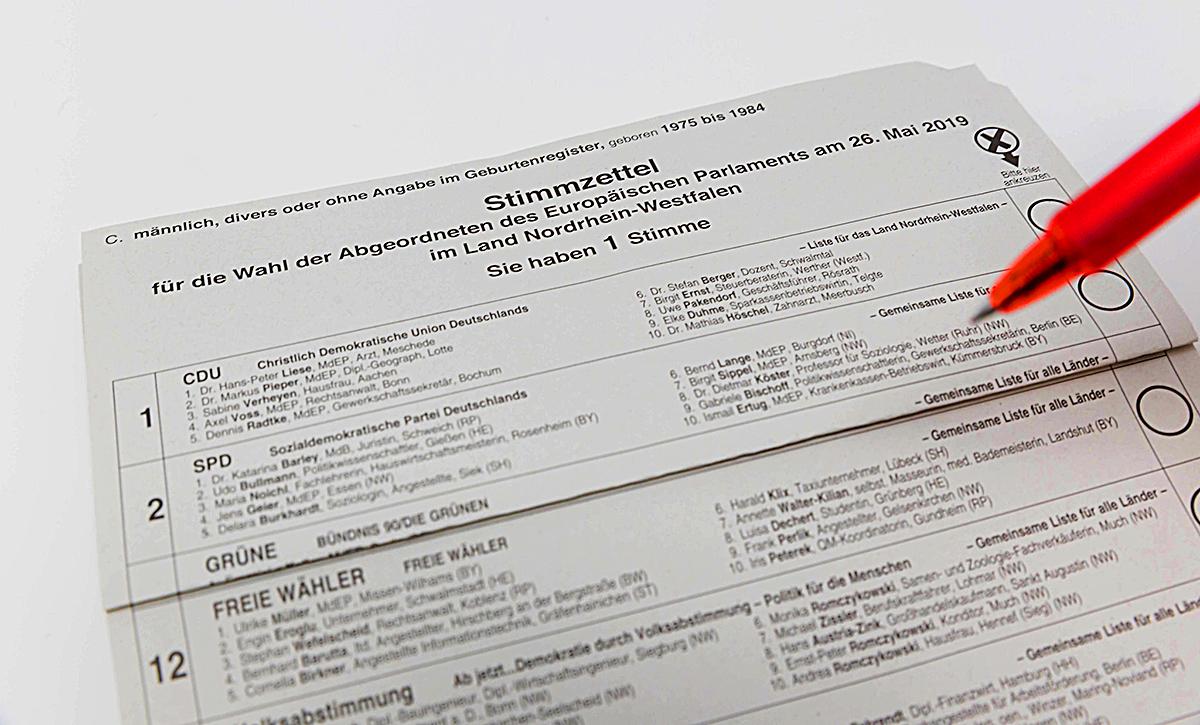 EU-Wahl: Grüne profitieren vom Glaubwürdigkeitsverlust der Regierungsparteien