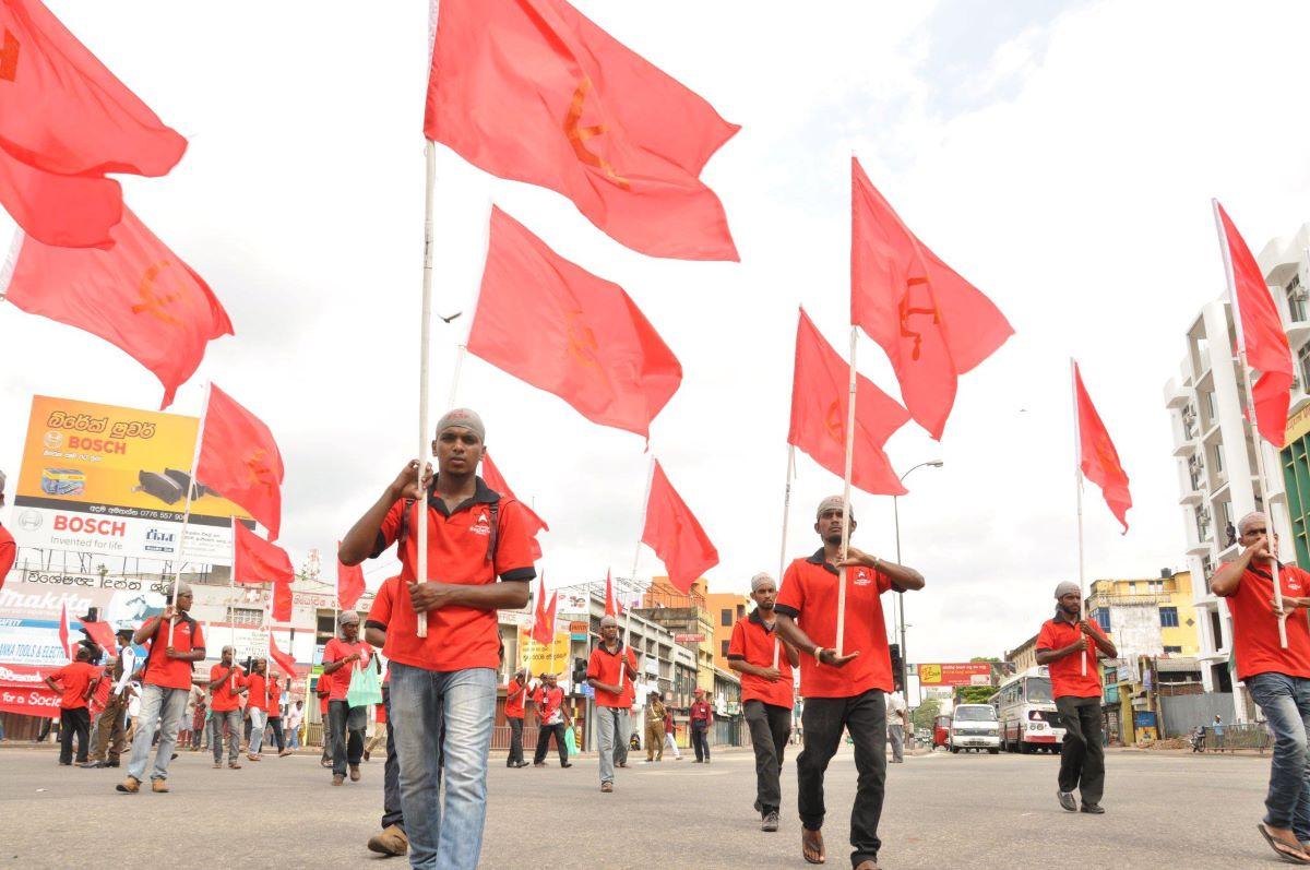 Antirassistischer Protest auf Sri Lanka