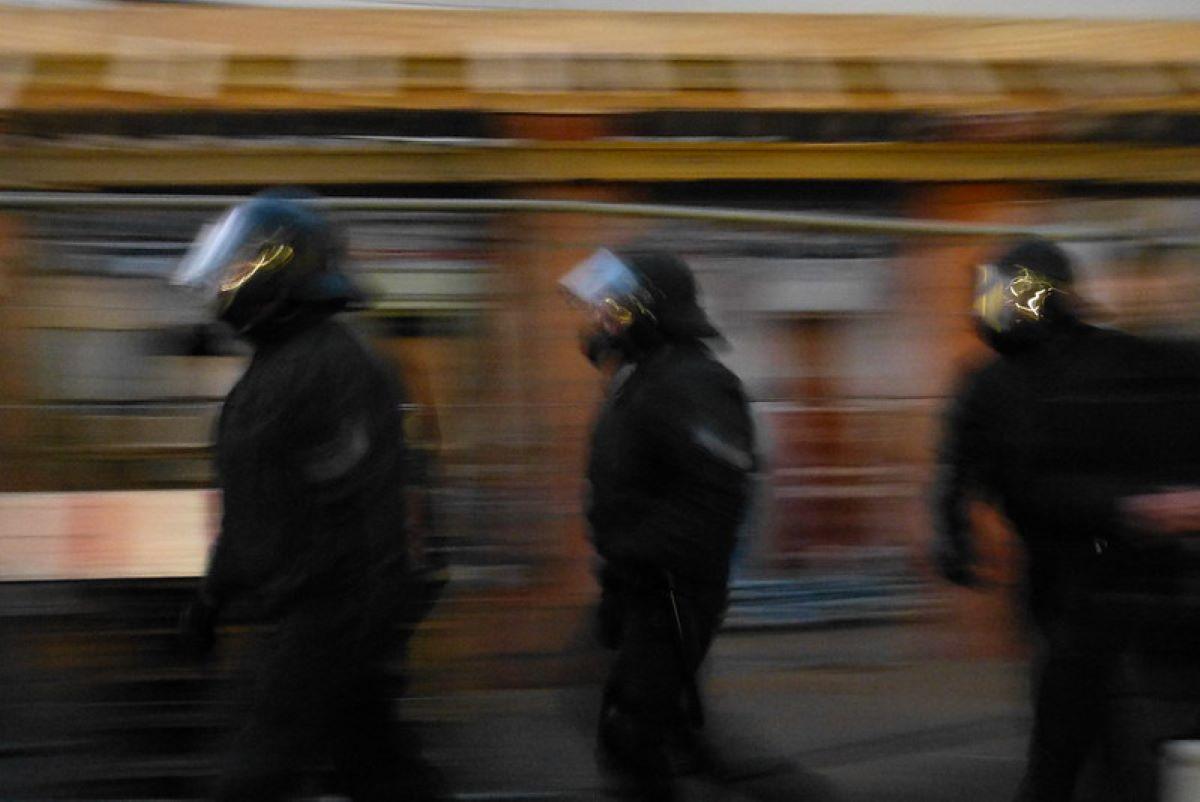Polizist*innen sind keine Arbeiter*innen, sondern Agent*innen der Repression