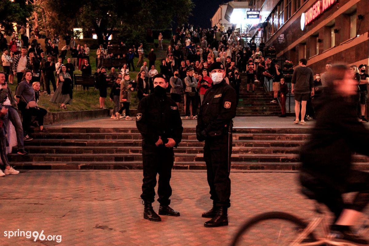 Solidarität mit dem Kampf des belorussischen Volks