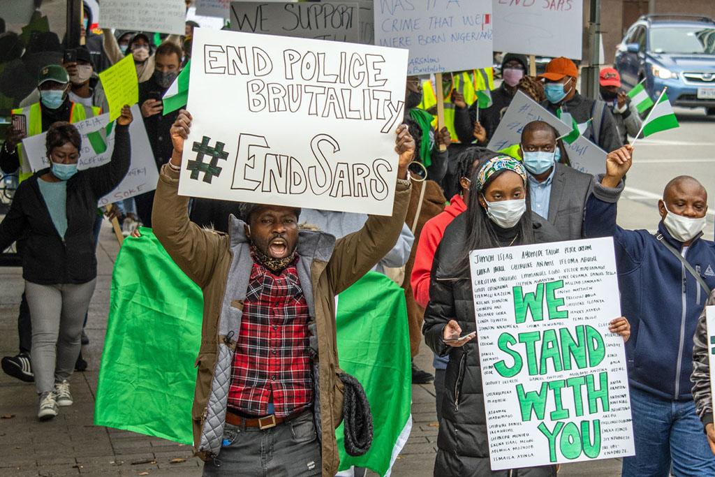 Proteste in Afrikas Ländern des schwarzen Goldes