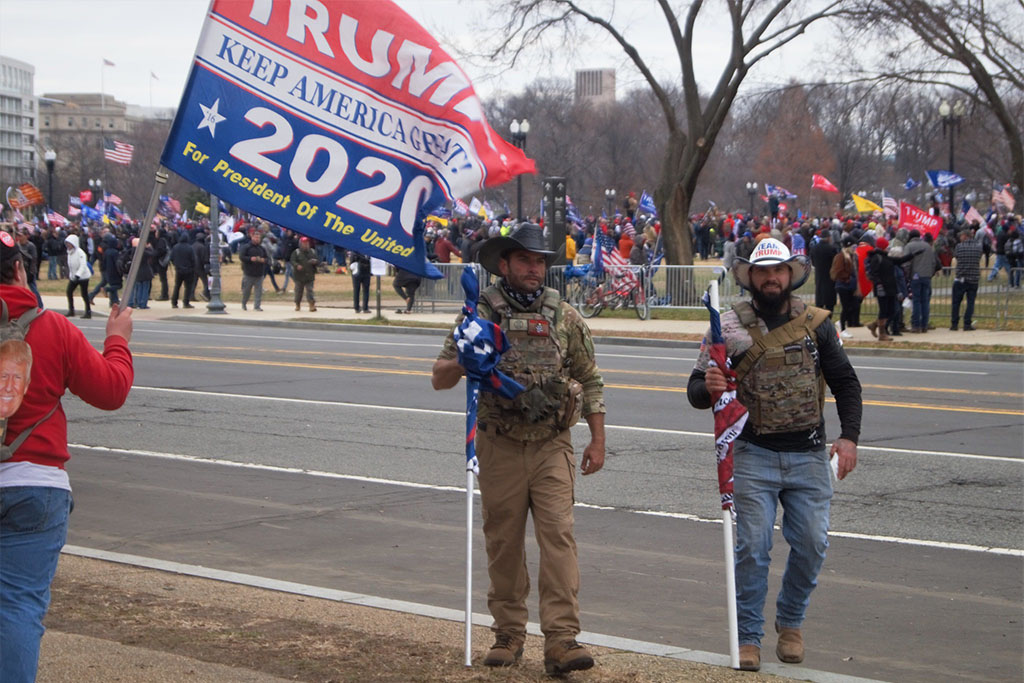 Warum Trumps Mob im Kapitol erfolglos blieb
