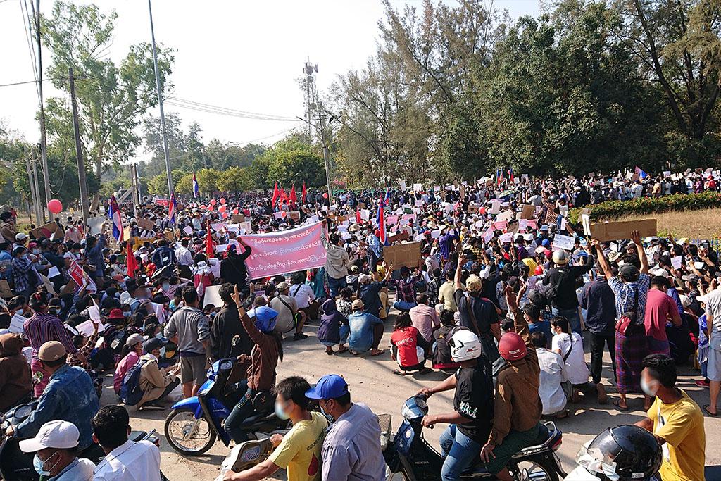 Weg mit dem Militärregime in Myanmar!