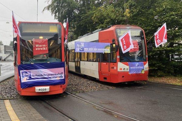 Straßenbahnstreik in Köln